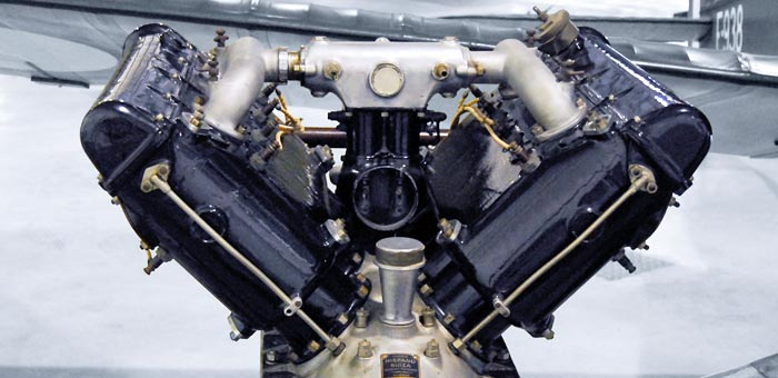 Hispano-Suiza 8 Aircraft Engine Pictures, Information and Specifications