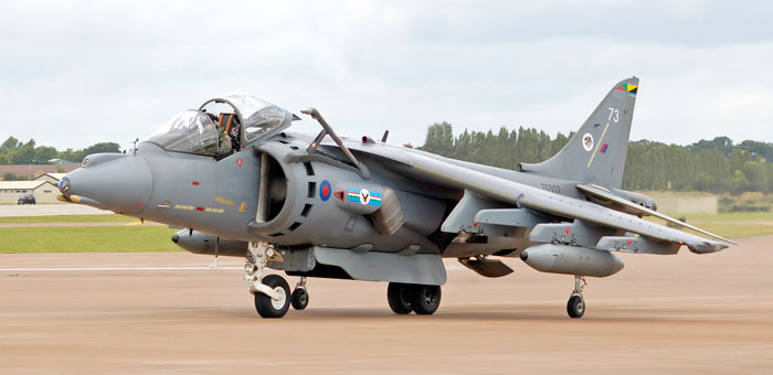 Picture Of Bae Harrier Gr9 Bomber Plane And Information