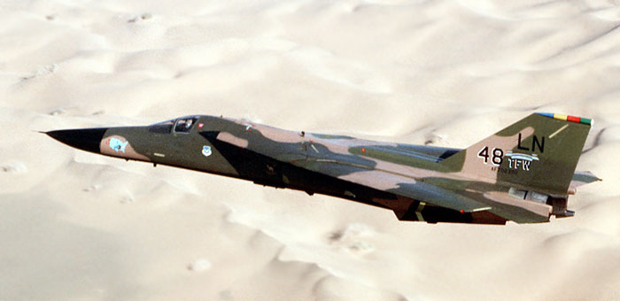 Picture of General Dynamics F-111 Bomber Plane and information