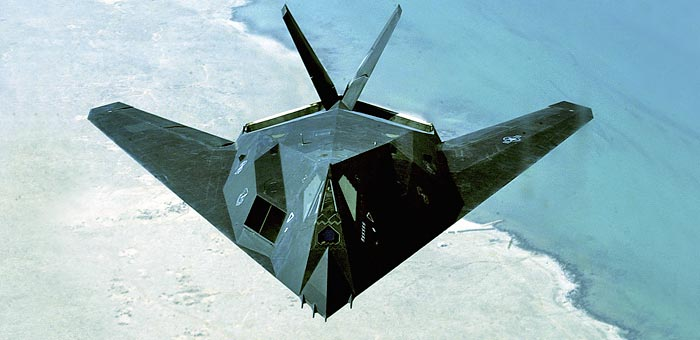 Picture of Lockheed F-117 Nighthawk Jet Fighter Plane and information