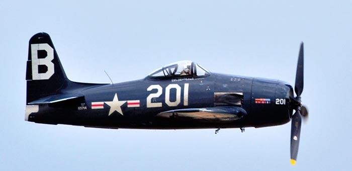 Grumman F8f Bearcat Cutaway