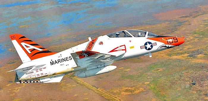 Resultado de imagen de avión de entrenamiento T-45
