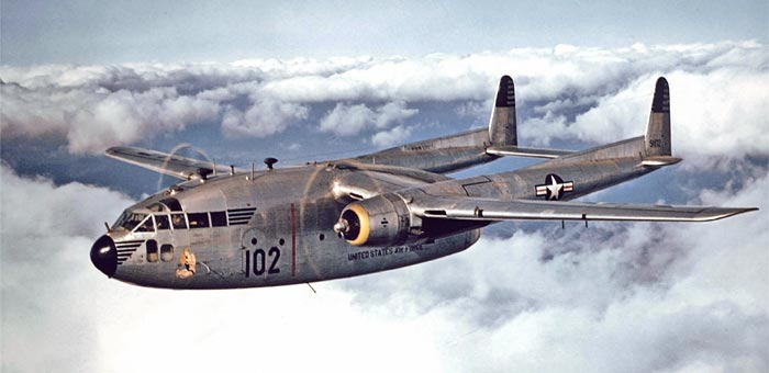 Picture of Fairchild C-119 Flying Boxcar Military ...