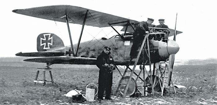 Albatros D Iii Fighter Plane